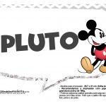Plaquinhas Mickey Vintage 30