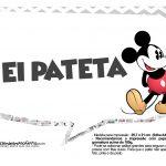 Plaquinhas Mickey Vintage 31