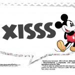 Plaquinhas Mickey Vintage 32