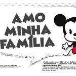 Plaquinhas divertidas Mickey Baby Vintage 13