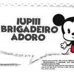 Plaquinhas divertidas Mickey Baby Vintage 25
