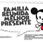 Plaquinhas divertidas Mickey Baby Vintage 27