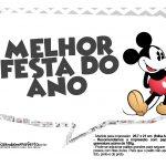 Plaquinhas divertidas Mickey Vintage 01