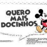 Plaquinhas divertidas Mickey Vintage 02