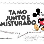 Plaquinhas divertidas Mickey Vintage 03