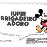 Plaquinhas divertidas Mickey Vintage 04