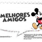 Plaquinhas divertidas Mickey Vintage 05