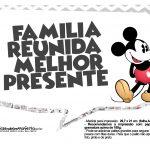Plaquinhas divertidas Mickey Vintage 07