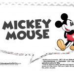 Plaquinhas divertidas Mickey Vintage 08