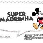 Plaquinhas divertidas Mickey Vintage 09