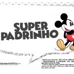 Plaquinhas divertidas Mickey Vintage 10