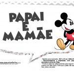 Plaquinhas divertidas Mickey Vintage 14