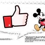 Plaquinhas divertidas Mickey Vintage 18