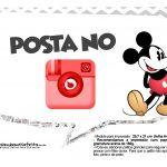 Plaquinhas divertidas Mickey Vintage 19