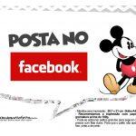 Plaquinhas divertidas Mickey Vintage 20