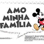 Plaquinhas divertidas Mickey Vintage 22