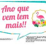 Plaquinhas para Festa Flamingo 2