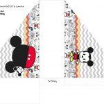 Porta Guardanapos Mickey Baby Vintage Kit Festa