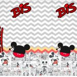 Rotulo Bis Mickey Baby Vintage