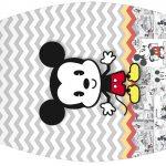 Rotulo Esmalte Mickey Baby Vintage