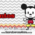 Rotulo Mentos Mickey Baby Vintage