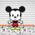 Rotulo Mini Confeti Mickey Baby Vintage
