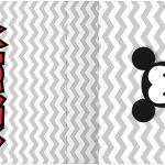 Rotulo Mini Talento Mickey Baby Vintage