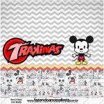 Rotulo Mini Trakinas Mickey Baby Vintage