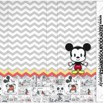 Rotulo Nescau Mickey Baby Vintage