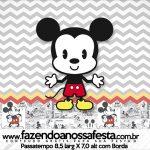 Rotulo Passatempo Mickey Baby Vintage