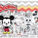 Rotulo Toddynho Mickey Baby Vintage