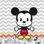 Rotulo Tubetes Mickey Baby Vintage