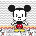 Rotulo Vinho e Espumante Mickey Baby Vintage