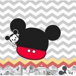 Rotulo para Caixa bombom Mickey Baby Vintage