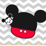 Rotulo para Squezze Mickey Baby Vintage