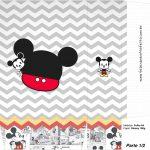 Sacolinha Surpresa 1 2 Mickey Baby Vintage Kit Festa