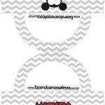 Saquinho de balas Bolsinha Mickey Baby Vintage