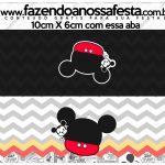 Saquinho de balas Mickey Baby Vintage