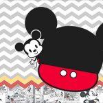 Tag Agradecimento Etiqueta Mickey Baby Vintage Kit Festa