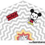 Cone Guloseimas 4 lados Mickey Baby Vintage
