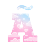 Alfabeto Chuva de Amor AA