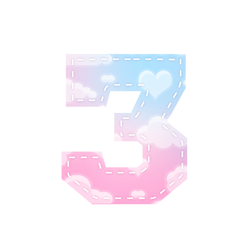 Alfabeto Festa Chuva de Amor 3