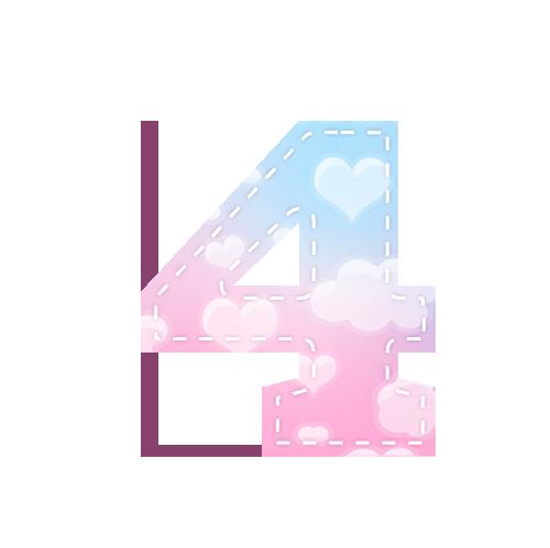 Alfabeto Festa Chuva de Amor 4