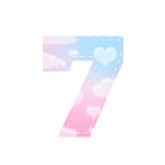 Alfabeto Festa Chuva de Amor 7
