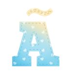 Alfabeto Festa Chuva de Amor Menino AAA