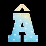Alfabeto Festa Chuva de Amor Menino AAAA