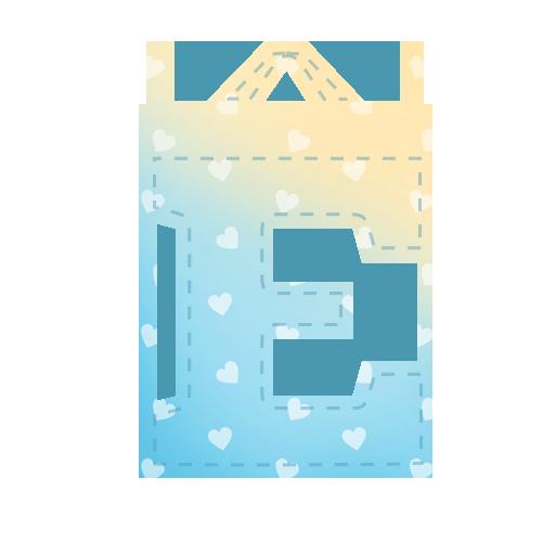 Alfabeto Festa Chuva de Amor Menino EEE