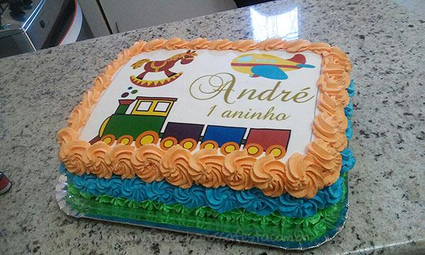 Bolo Festa Brinquedos Antigos do Andre