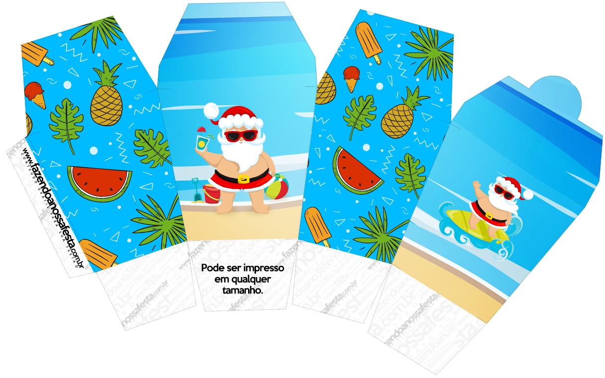 Caixa China in Box Natal Tropical