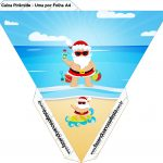 Caixa Piramide Natal Tropical